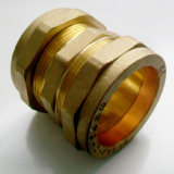 54mm Brass Compression Slip Coupling - 24902196